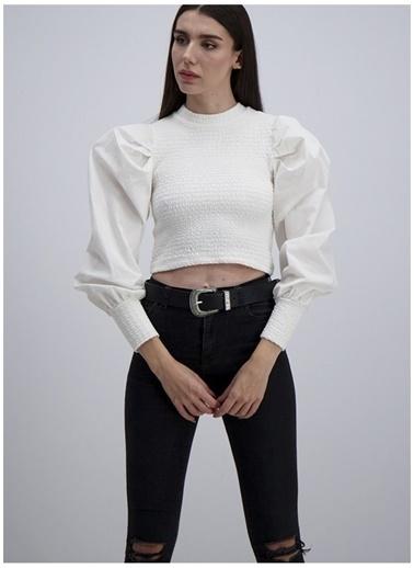 iandb Bluz Beyaz
